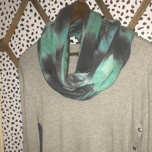 Pistil tie dye infinity scarf